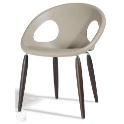 natural drop 2826 moderner sessel aus holz und. Black Bedroom Furniture Sets. Home Design Ideas