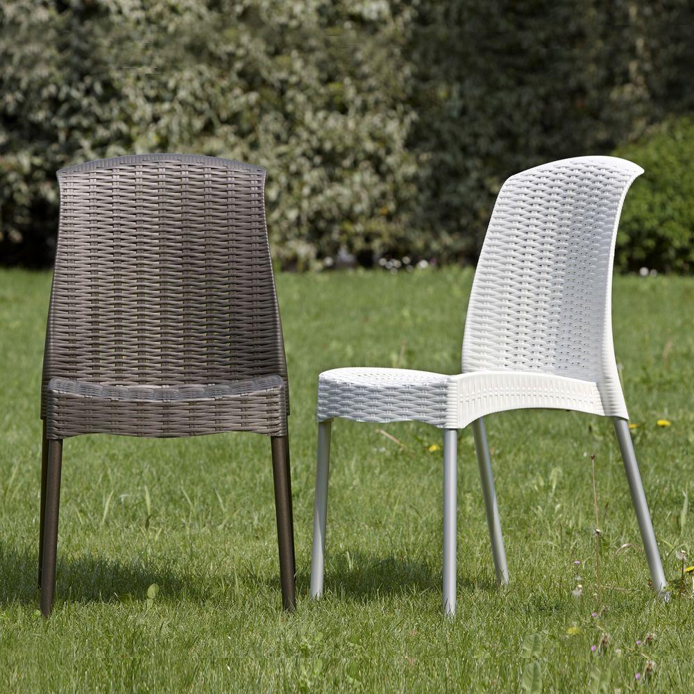 Olimpia chair 2630 sedia con gambe in alluminio seduta for Sedie impilabili