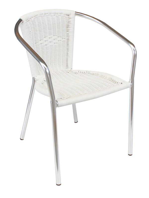 E06 per bar e ristoranti sedia in metallo e - Sedia polipropilene impilabile ...