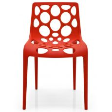 CB1085 Hero - Chaise empilable Connubia - Calligaris en polypropylène, en différentes couleurs, aussi pour jardin