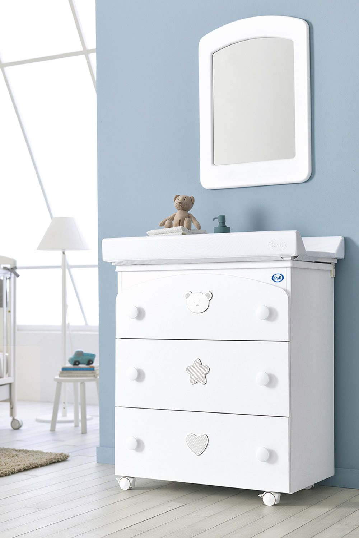 Birillo F - Changing table-baby bath