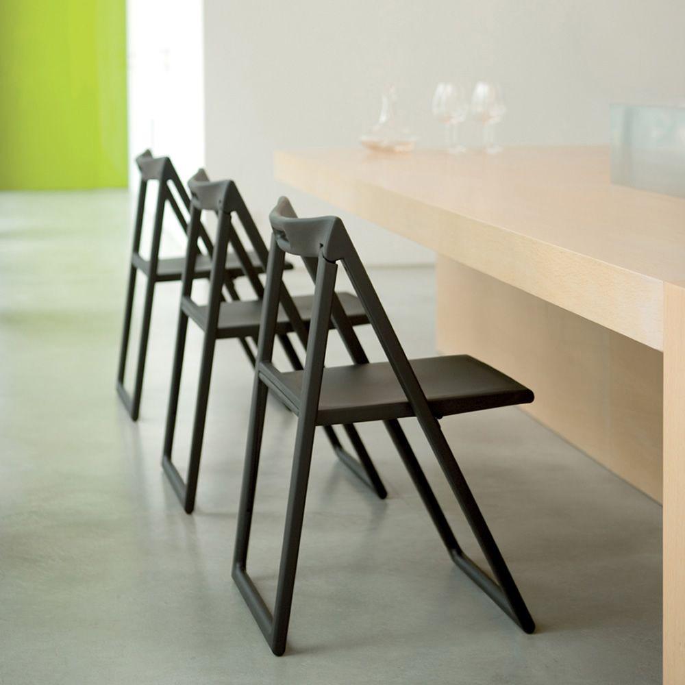 enjoy 460 f r bars und restaurants klappbarer gastronomiestuhl aus polypropylen verschiedene. Black Bedroom Furniture Sets. Home Design Ideas