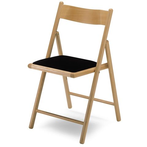 Ls6 sedia pieghevole imbottita sediarreda - Sedia pieghevole imbottita ...