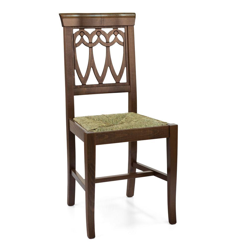 Mu11 ter chaise rustique en bois pour bars et restaurants si ge en bois paille ou rembourr - Chaise rustique bois et paille ...