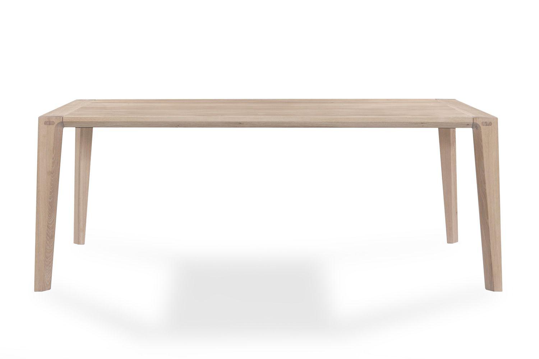raia designer tisch aus holz rechteckig fest in verschiedenen gr en verf gbar sediarreda. Black Bedroom Furniture Sets. Home Design Ideas