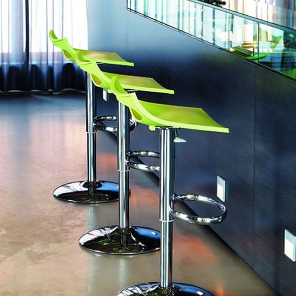 Diavoletto s 2220 sgabello girevole regolabile in for Sgabelli design offerta