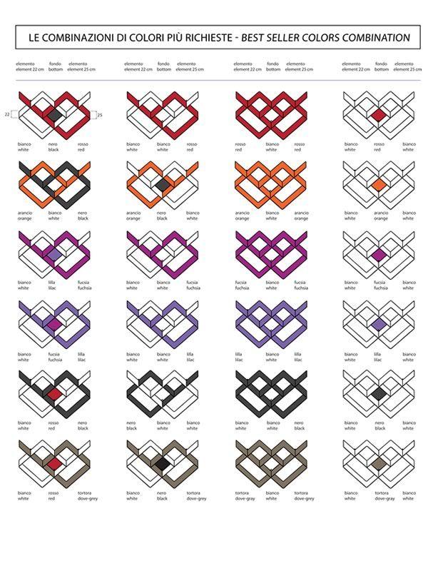 Mondrian libreria componibile in acciaio verniciato for Combinazioni colori arredamento