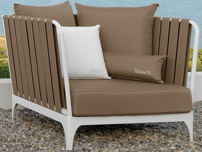 stripe set designer set f r den garten 1 sofa 2 sessel 1 beistelltisch couchtisch aus metall. Black Bedroom Furniture Sets. Home Design Ideas