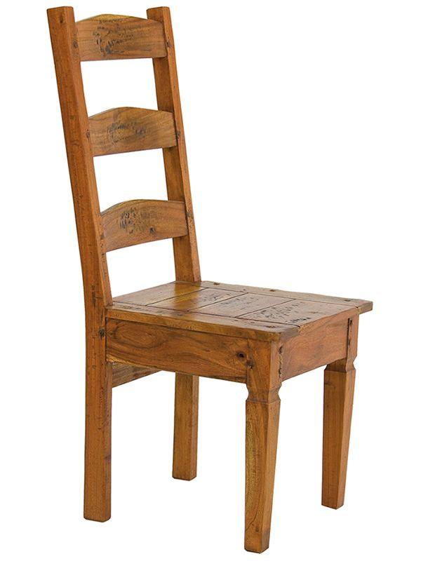 Wooden chairs · Prado · Prado  Chair in indian acacia