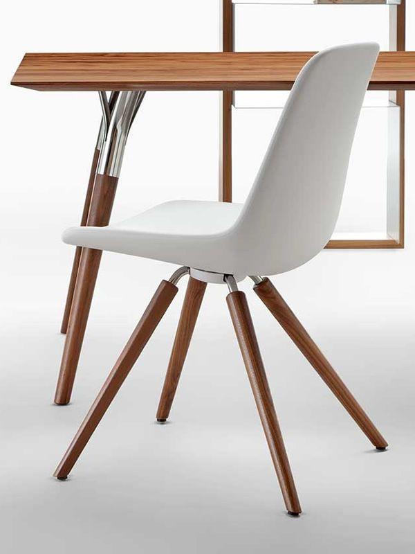 step designer stuhl tonon aus holz und polyurethan. Black Bedroom Furniture Sets. Home Design Ideas