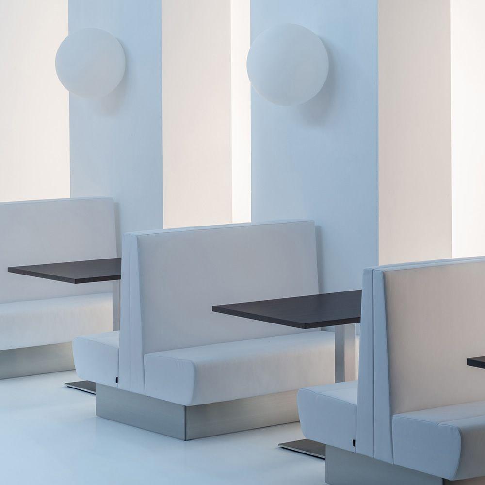 Modus bifacciale per bar e ristoranti panca doppia for Panche imbottite