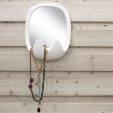 Oskar - Specchio di design B-Line, in polietilene, disponibile in diversi colori