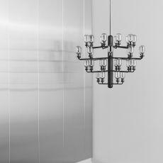 Amp-C - Lampe à suspension Normann Copenhagen en verre et en marbre, disponible dans différentes couleurs et deux dimensions