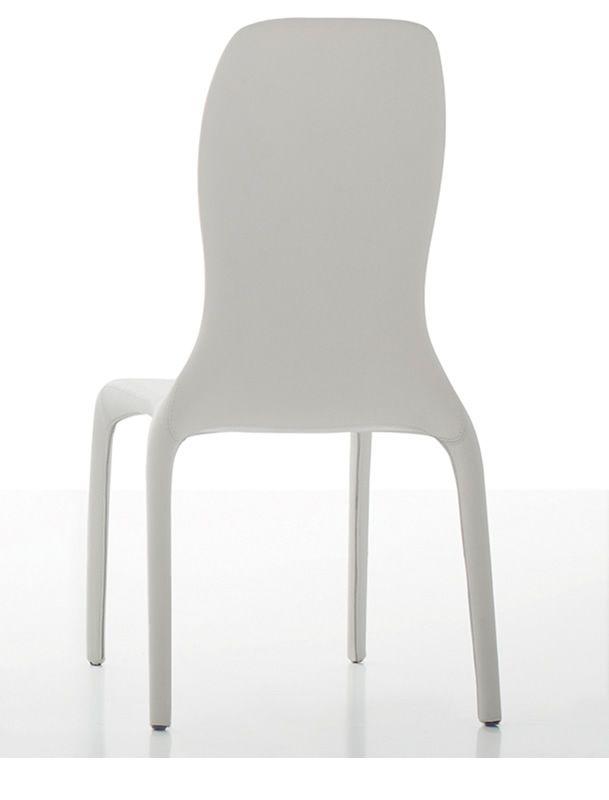 lisetta 7200 stuhl tonin casa mit stoff kunstleder oder leder bezogen sediarreda. Black Bedroom Furniture Sets. Home Design Ideas