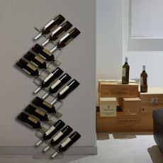 Cantinetta - Methacrylate floor bottle carrie, available in different heights