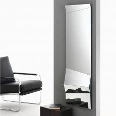 Illusion - Espejo de diseño Bontempi Casa, colocable horizontal o verticalmente