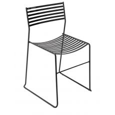 Aero 27 - Emu chair made of metal, stackable, also for garden, available in several colours