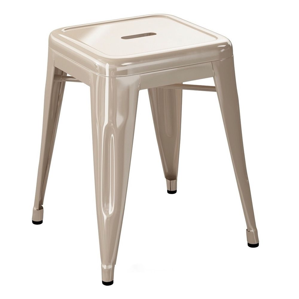 h5 designer hocker aus lackiertem metall stapelbar sitzh he 45 oder 50 cm sediarreda. Black Bedroom Furniture Sets. Home Design Ideas