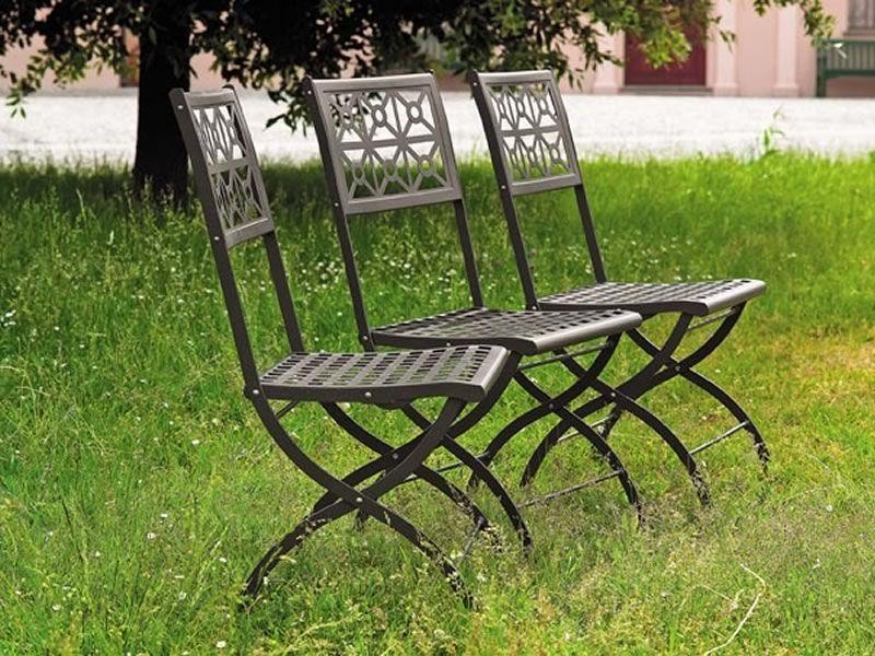 Isotta 2506 sedia pieghevole in acciaio per esterno sediarreda - Sedie pieghevoli design ...