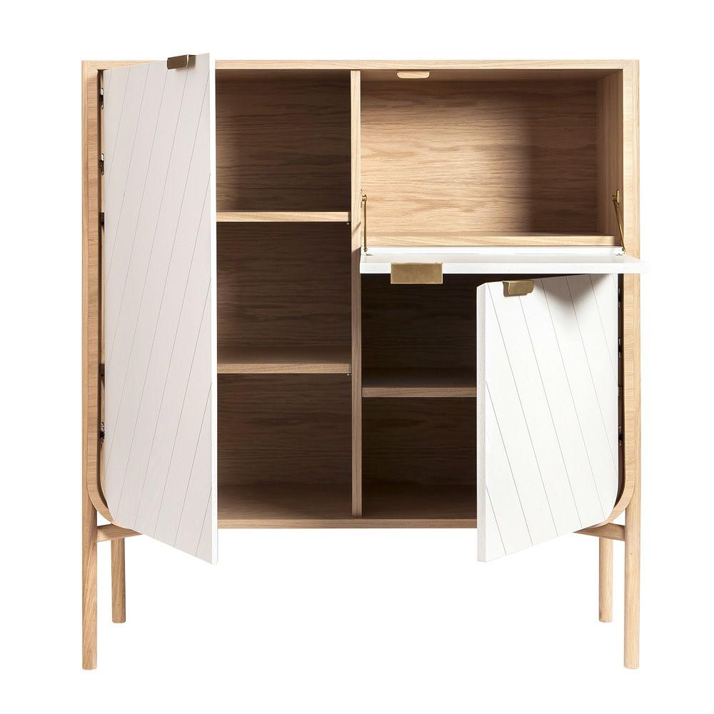 Marius V - Mobile da soggiorno, in legno, con tre ante - Sediarreda