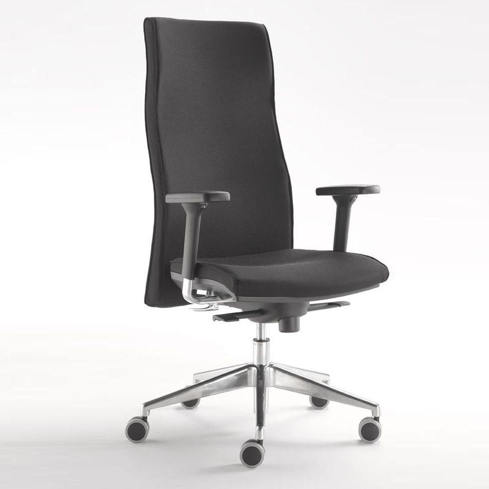 Ml444 poltrona direzionale da ufficio schienale alto for Poltrone direzionali ufficio
