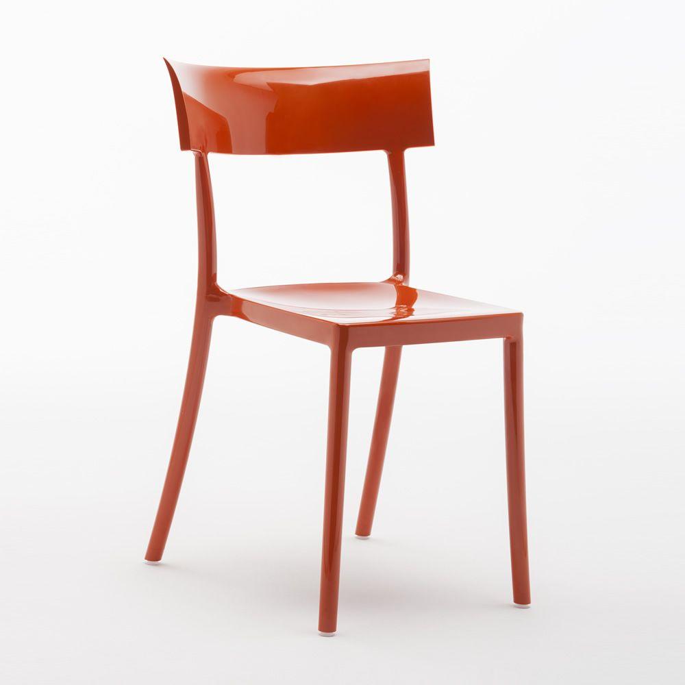 Catwalk sedia kartell di design in policarbonato for Sedia design kartell