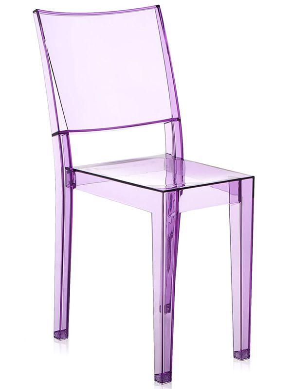 la marie kartell design chair transparent polycarbonate stackable also for garden sediarreda. Black Bedroom Furniture Sets. Home Design Ideas