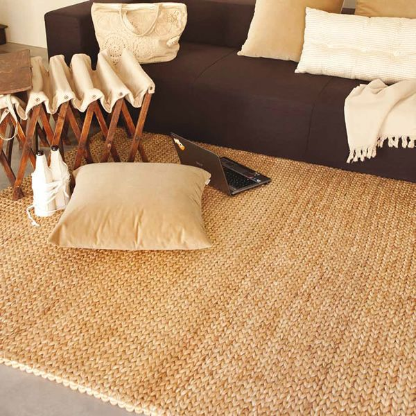jumbo tapis avec fibre naturelle d 39 abaca disponible en diff rents coloris sediarreda. Black Bedroom Furniture Sets. Home Design Ideas