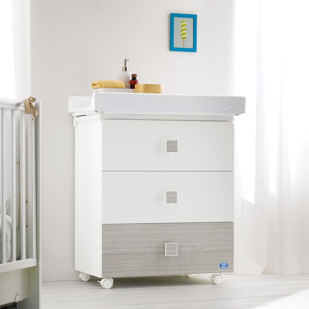 zoom f baignoire table langer pali avec 3 tiroirs en. Black Bedroom Furniture Sets. Home Design Ideas