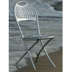 Coupole 360 - Emu chair, folding, made of metal, for garden