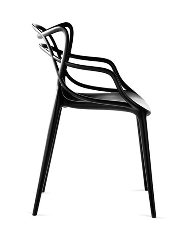 masters kartell design stapelsessel aus polypropylen auch f r garten sediarreda. Black Bedroom Furniture Sets. Home Design Ideas