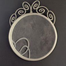 Klimt O - Spiegel aus Eisen, verschiedene vorrätige Farben