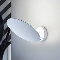 Puzzle Round - Lampe de plafond ou murale de design, orientable, en métal, avec lumière LED, disponible en différentes dimensions et couleurs