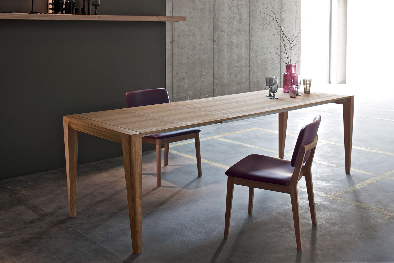 Anassimandro tavolo moderno in legno 142 x 85 cm fisso o allungabile disponibile in diverse - Tavolo cucina allungabile legno ...