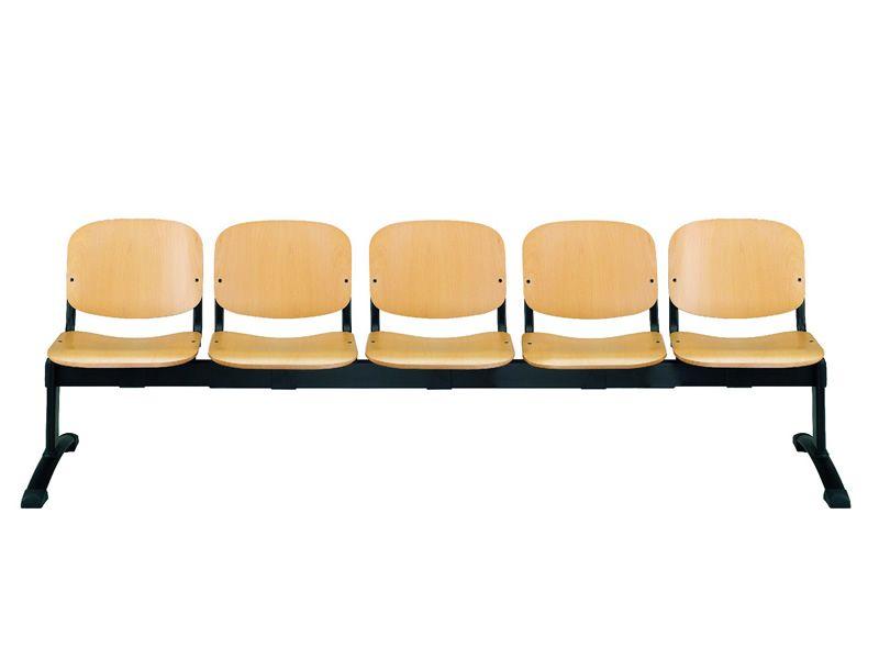 Ml100 panca w banco para sala de espera con asientos en for Bancos para oficina