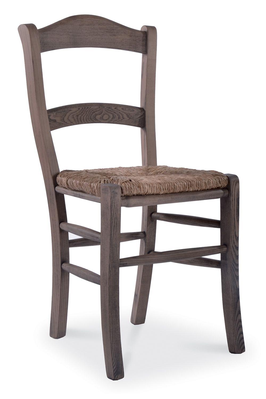 Mu41 shabby pour bars et restaurants chaise rustique en style shabby chic p - Assise en paille pour chaise ...