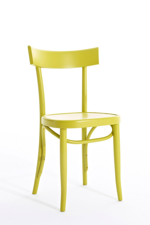 Brera sedia colico in legno massello di faggio diversi - Sedia legno design ...