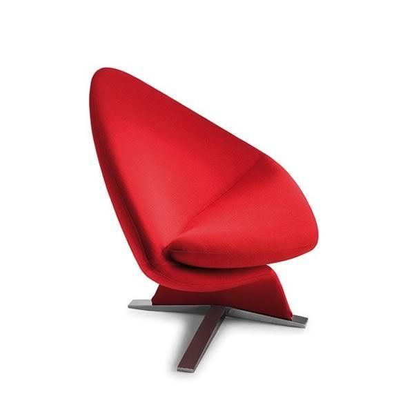 One for two fauteuil design de tonon tournant en cuir ou tissu de diff rent - Fauteuil moderne design ...
