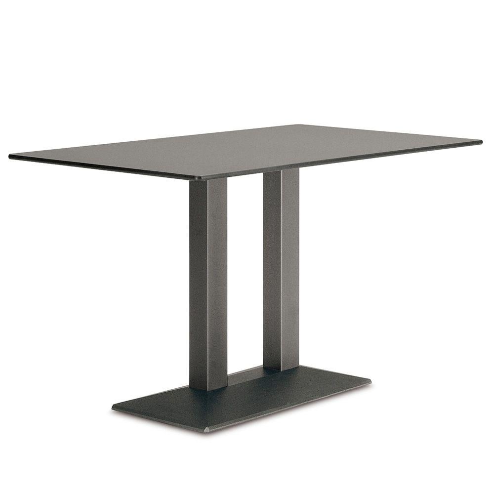 quadra 4560 pour bars et restaurants pi tement classique de table deux colonnes pour bar. Black Bedroom Furniture Sets. Home Design Ideas