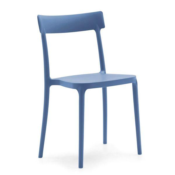 523 sedia impilabile in polipropilene disponibile in - Sedia polipropilene impilabile ...