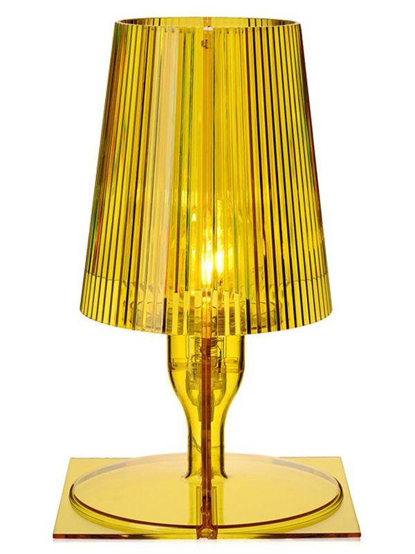 Take lampe de table kartell en polycarbonate en - Lampe de bureau kartell ...